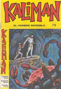 Cover Thumbnail for Kaliman (Editora Cinco, 1976 series) #78
