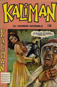 Cover Thumbnail for Kaliman (Editora Cinco, 1976 series) #128