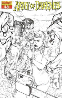 Cover Thumbnail for Army of Darkness (Dynamite Entertainment, 2005 series) #5 [B&W RI]