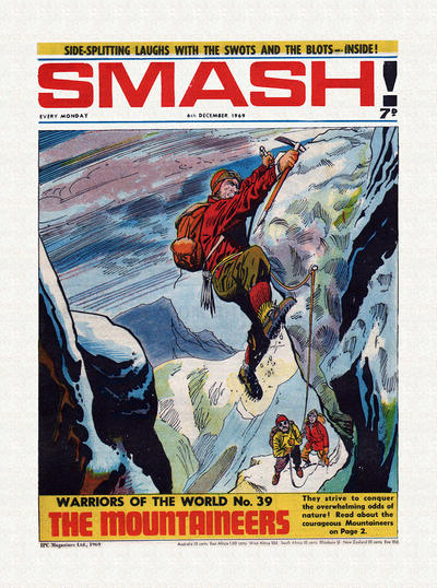 Cover for Smash! (1966 series) #201