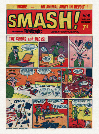 Cover for Smash! (IPC, 1966 series) #149