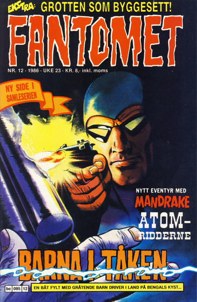 Cover for Fantomet (Semic, 1976 series) #12/1986