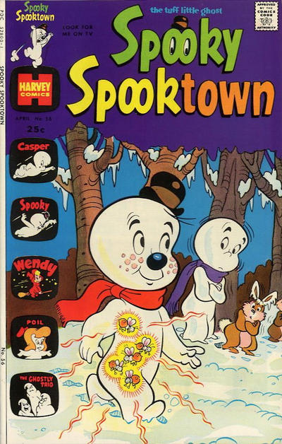 Cover for Spooky Spooktown (Harvey, 1961 series) #56