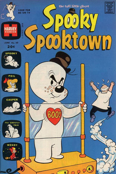 Cover for Spooky Spooktown (Harvey, 1961 series) #49