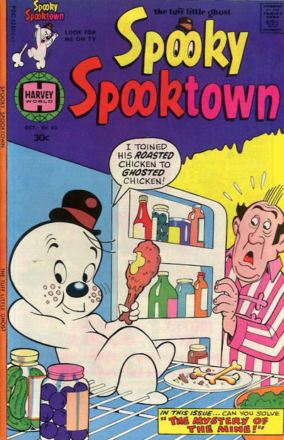 Cover for Spooky Spooktown (Harvey, 1961 series) #65