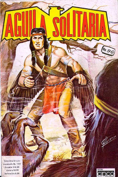 Cover for Aguila Solitaria (Editora Cinco, 1976 ? series) #96