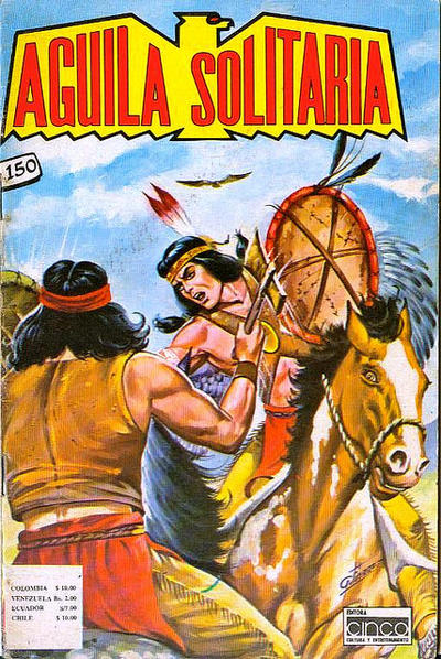 Cover for Aguila Solitaria (Editora Cinco, 1976 ? series) #150