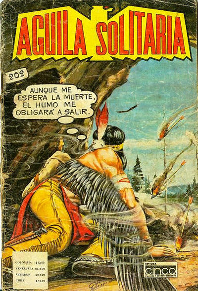 Cover for Aguila Solitaria (Editora Cinco, 1976 ? series) #202