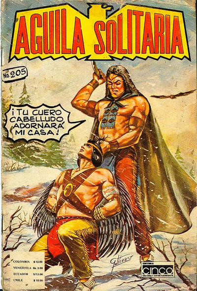 Cover for Aguila Solitaria (Editora Cinco, 1976 ? series) #205