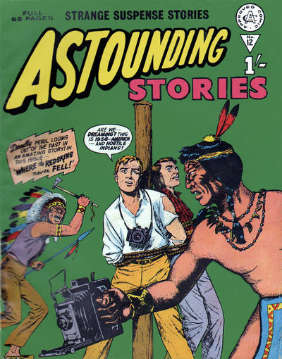 Cover for Astounding Stories (Alan Class, 1966 series) #12