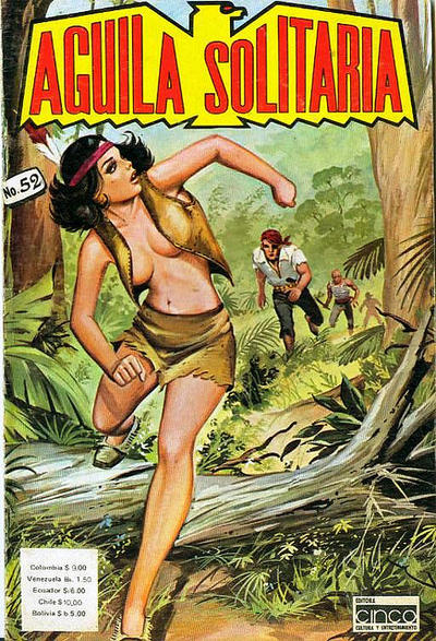 Cover for Aguila Solitaria (1976 ? series) #52