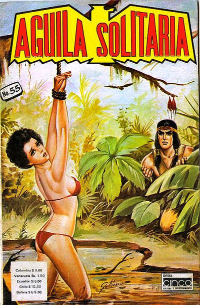 Cover for Aguila Solitaria (Editora Cinco, 1976 ? series) #55