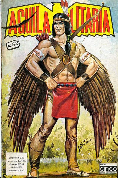 Cover for Aguila Solitaria (Editora Cinco, 1976 ? series) #58