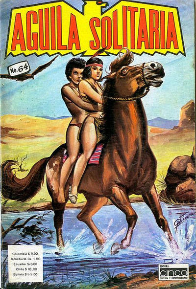 Cover for Aguila Solitaria (Editora Cinco, 1976 ? series) #64