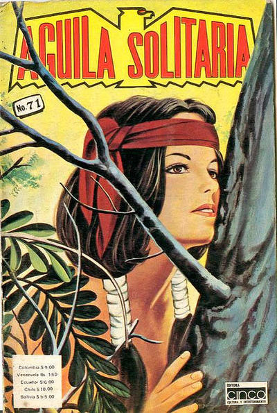 Cover for Aguila Solitaria (Editora Cinco, 1976 ? series) #71