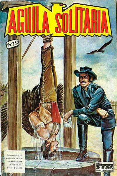Cover for Aguila Solitaria (Editora Cinco, 1976 ? series) #72