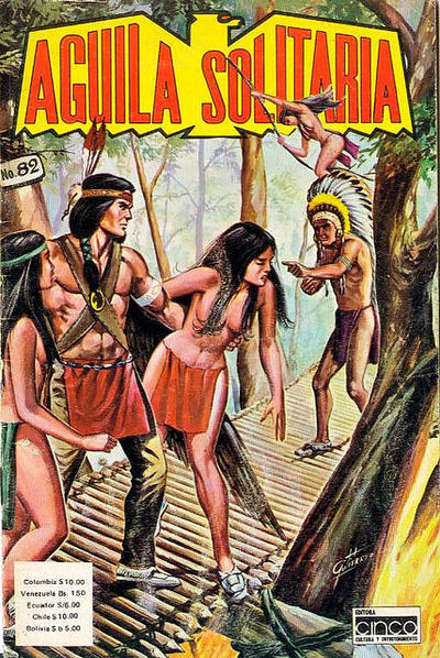 Cover for Aguila Solitaria (Editora Cinco, 1976 ? series) #82