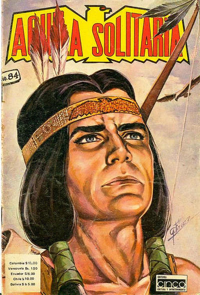 Cover for Aguila Solitaria (Editora Cinco, 1976 ? series) #84