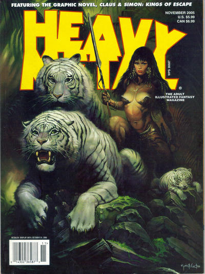 Cover for Heavy Metal Magazine (1992 series) #v29#5