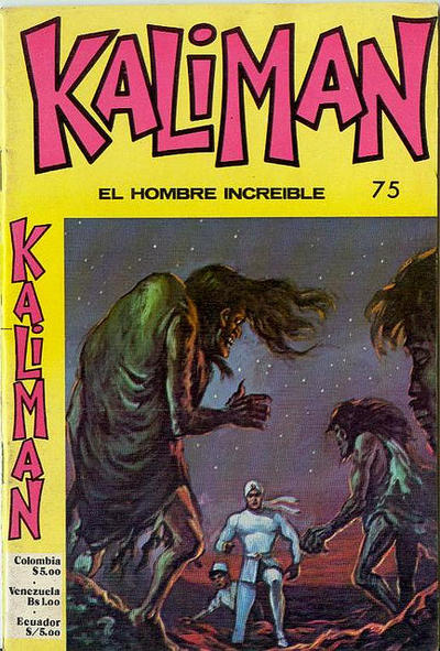 Cover for Kaliman (Editora Cinco, 1976 series) #75