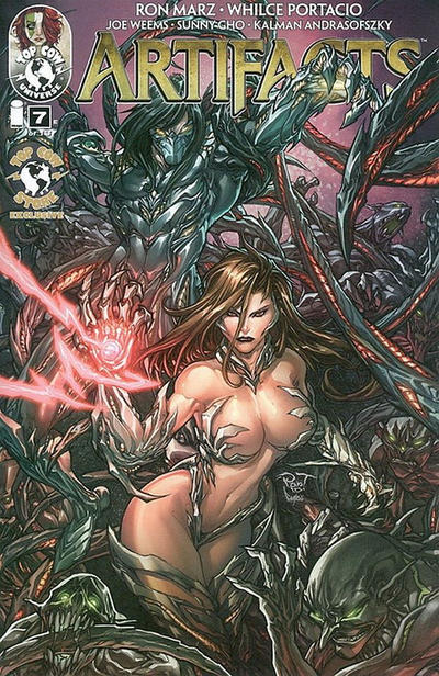 Cover for Artifacts (Image, 2010 series) #7 [Cover E]