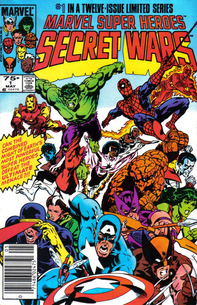 Cover for Marvel Super-Heroes Secret Wars (1984 series) #1 [Canadian Newsstand]