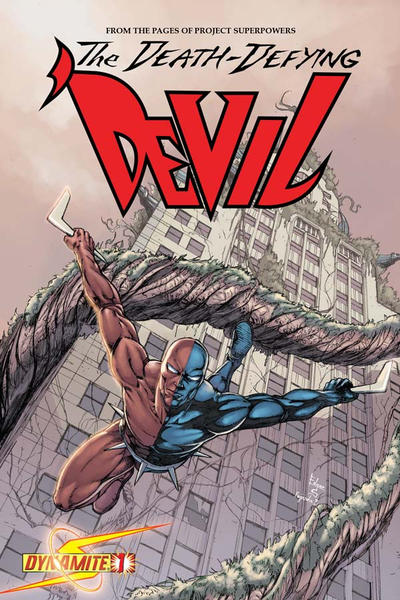 Cover for Death-Defying 'Devil (2008 series) #1 [Edgar Salazar]