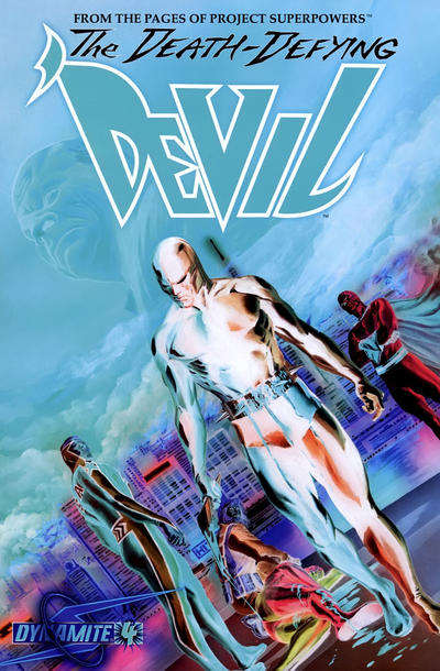 Cover for Death-Defying 'Devil (2008 series) #4 [Edgar Salazar Cover]