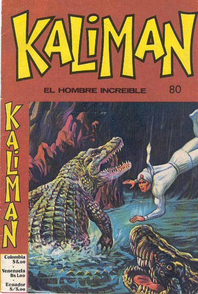 Cover for Kaliman (Editora Cinco, 1976 series) #80