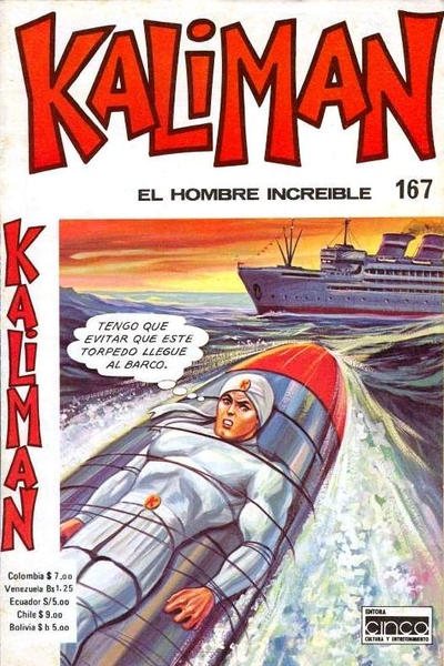 Cover for Kaliman (Editora Cinco, 1976 series) #167