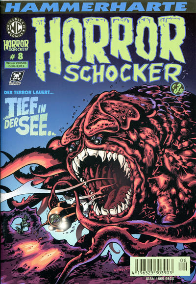 Cover for Horrorschocker (Weissblech Comics, 2004 series) #8