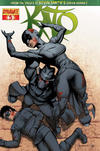 Cover Thumbnail for Kato (2010 series) #5 [Ale Garza Cover]