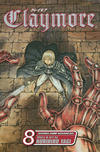 Cover for Claymore (Viz, 2006 series) #8