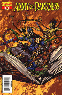 Cover Thumbnail for Army of Darkness (Dynamite Entertainment, 2005 series) #6 [Cover A]
