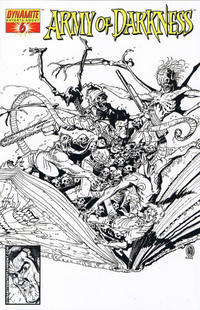 Cover Thumbnail for Army of Darkness (Dynamite Entertainment, 2005 series) #6 [B&W RI]