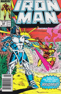 Cover for Iron Man (1968 series) #242 [Direct]