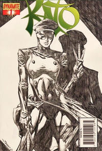 Cover Thumbnail for Kato (Dynamite Entertainment, 2010 series) #1 [Desjardins Incentive]