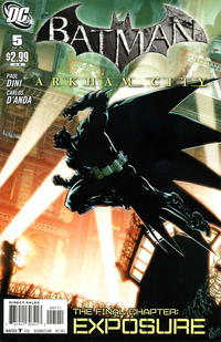 Cover Thumbnail for Batman: Arkham City (DC, 2011 series) #5