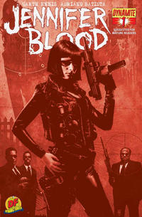 Cover for Jennifer Blood (Dynamite Entertainment, 2011 series) #1 [Ale Garza Cover]