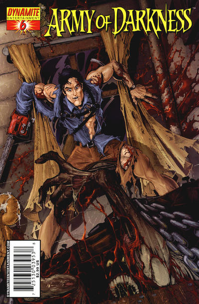 Cover for Army of Darkness (Dynamite Entertainment, 2005 series) #6 [Cover A]