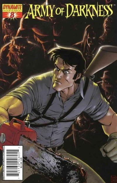 Cover for Army of Darkness (2005 series) #8 [Cover D]