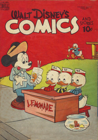 Cover for Walt Disney's Comics and Stories (Wilson Publishing, 1947 series) #v11#4 [124]