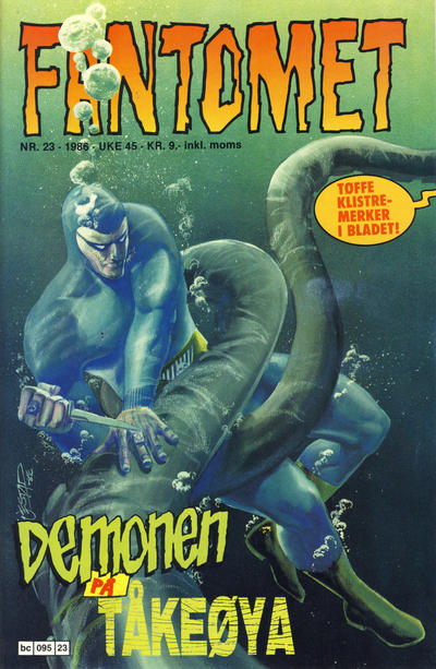Cover for Fantomet (Semic, 1976 series) #23/1986