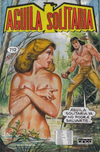 Cover for Aguila Solitaria (Editora Cinco, 1976 ? series) #712