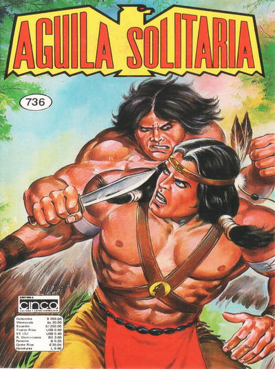 Cover for Aguila Solitaria (Editora Cinco, 1976 ? series) #736