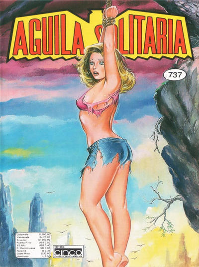Cover for Aguila Solitaria (Editora Cinco, 1976 ? series) #737