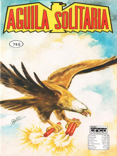 Cover for Aguila Solitaria (Editora Cinco, 1976 ? series) #745