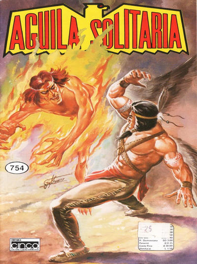 Cover for Aguila Solitaria (Editora Cinco, 1976 ? series) #754