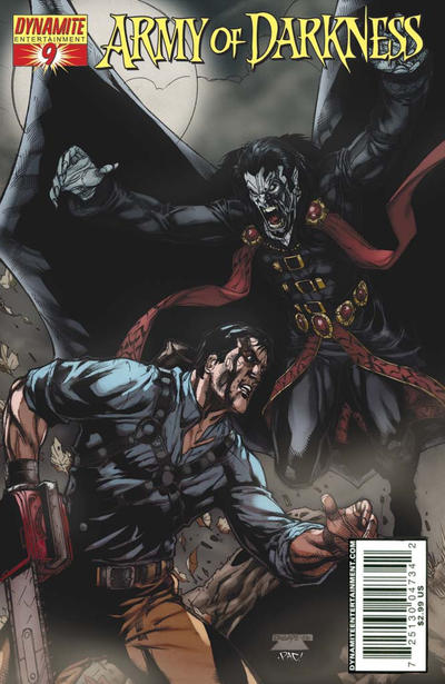 Cover for Army of Darkness (2005 series) #9 [B&W RI - Sneak Peek]