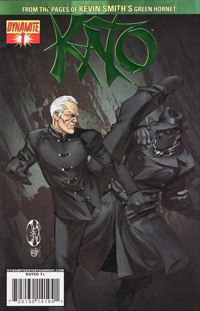 Cover for Kato (Dynamite Entertainment, 2010 series) #1 [Benitez DF Exclusive Cool Green]